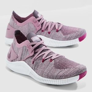 NEW Nike Free TR Flyknit 3 Plum Training shoes